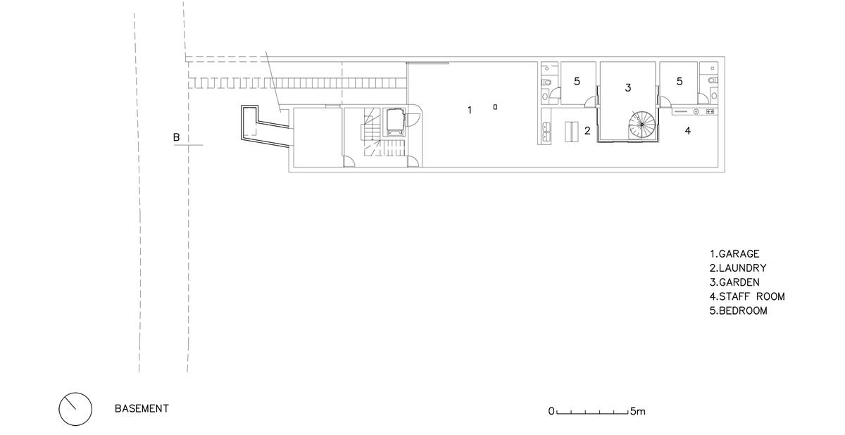 basement architectural plan