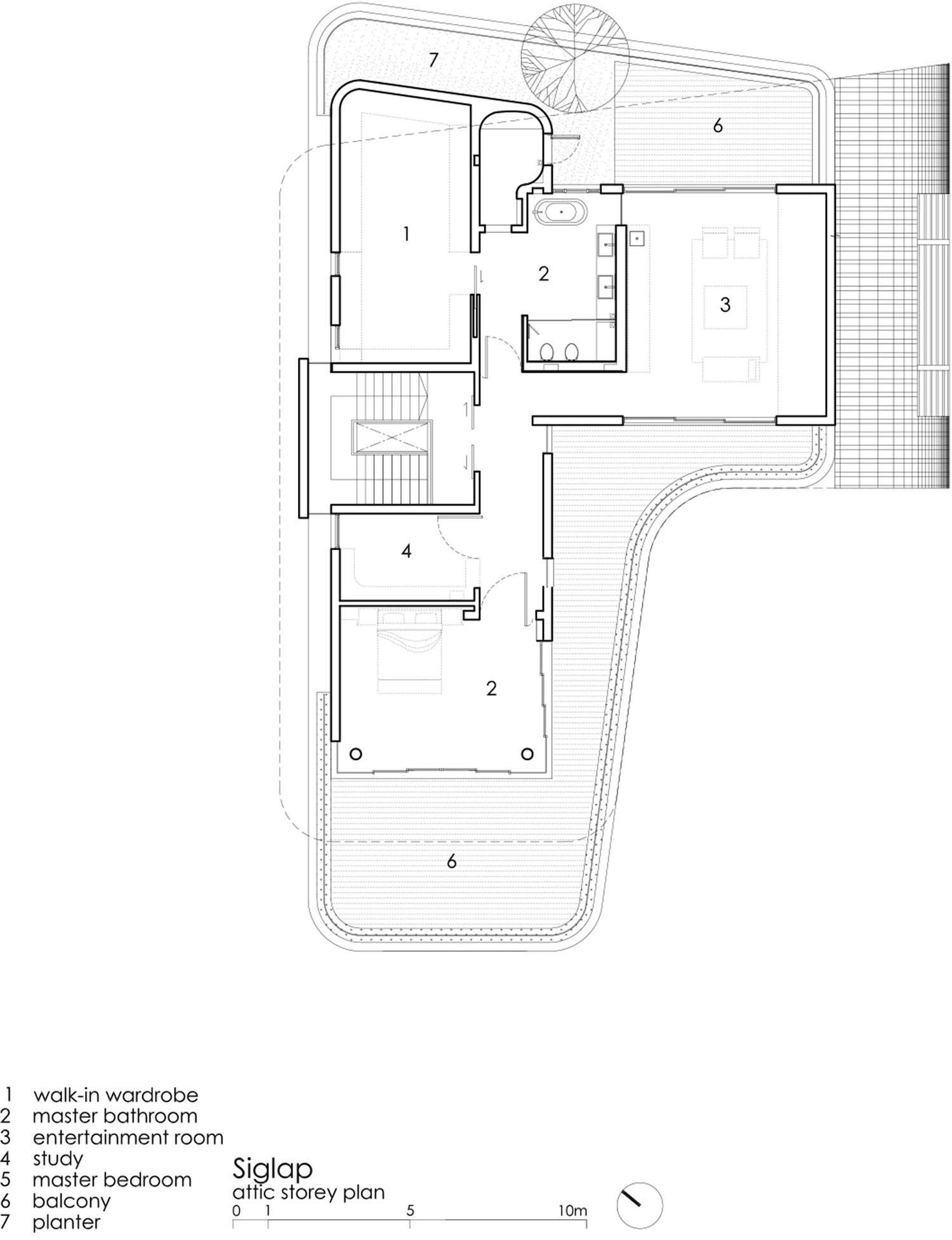 third floor plan drawing