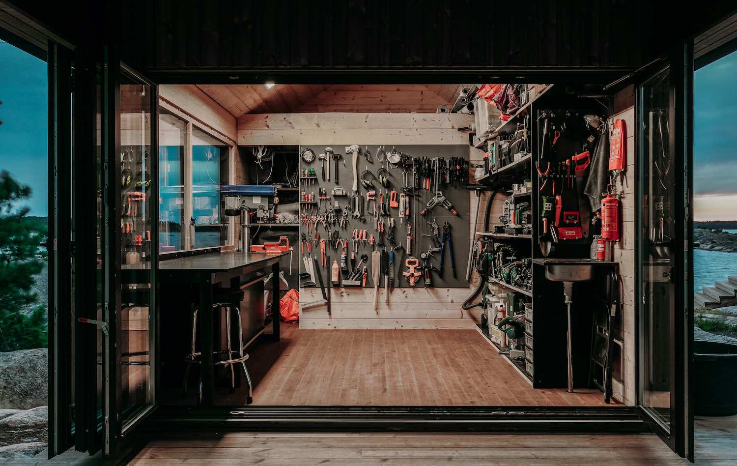 the tools room