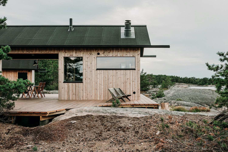 Project Ö cabin in Kimito Island, Finland designed by Aleksi Hautamäki