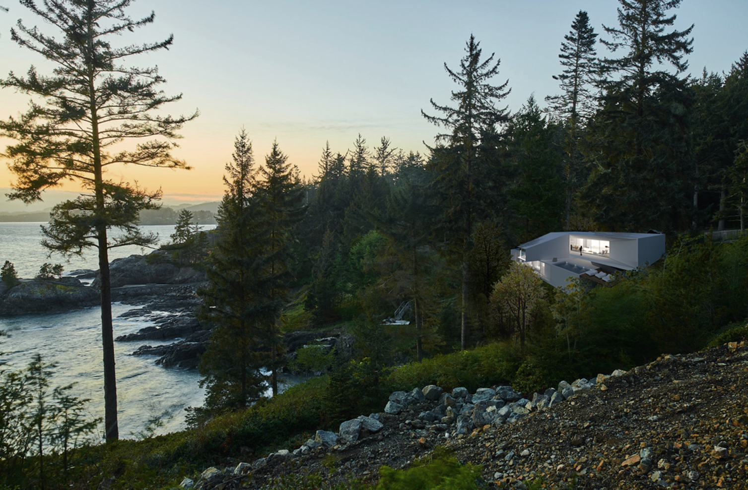 Horizontal Gravity in West Vancouver, Canada by Alterativ Design Lab