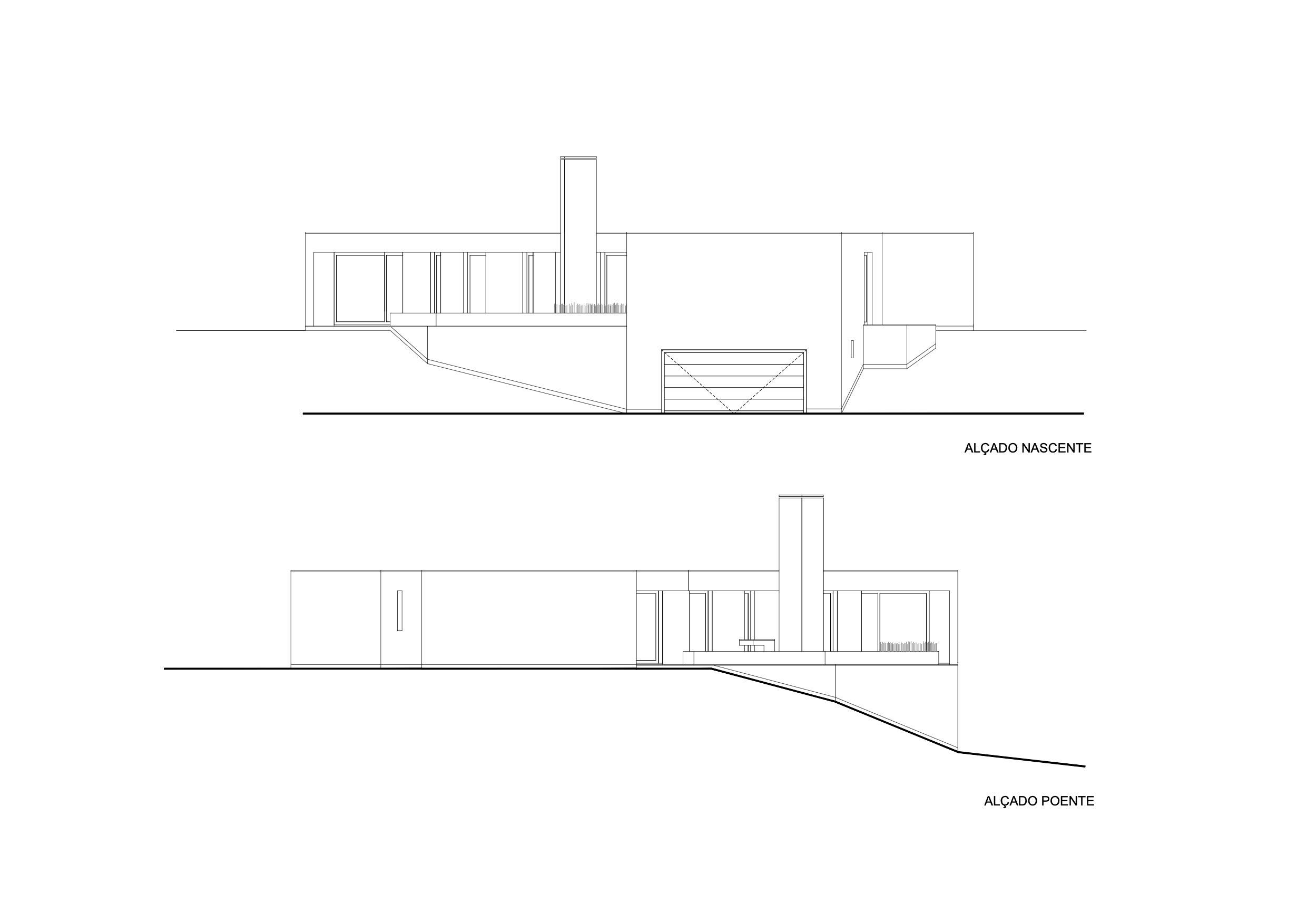 architectural elevation drawing