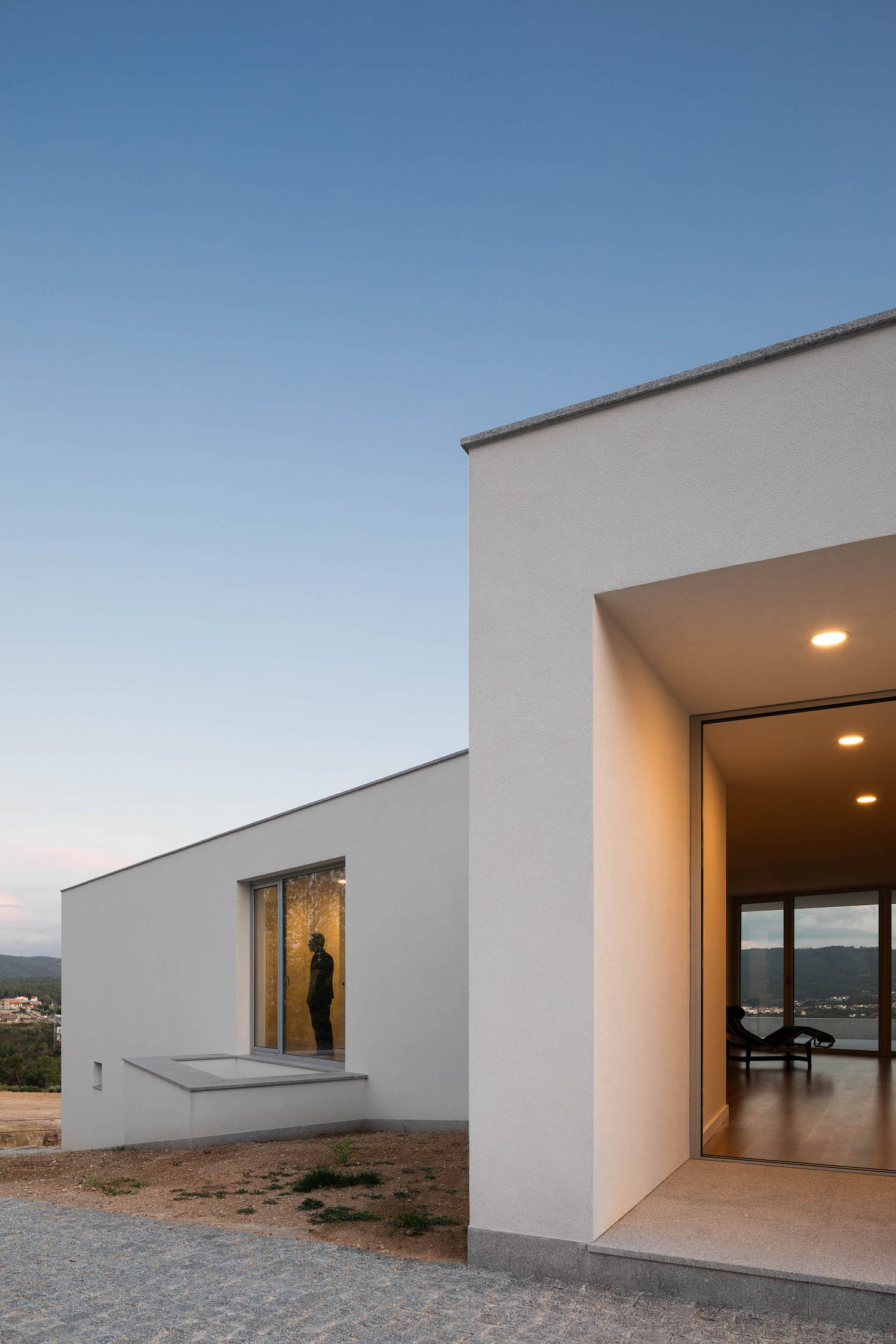 House in Lamego, Portugal by António Ildefonso Architect