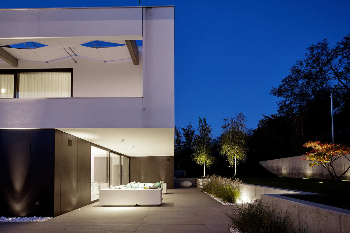 Bold, rather than brash, a luxury house by Benyei Architectural Studio in Hungary