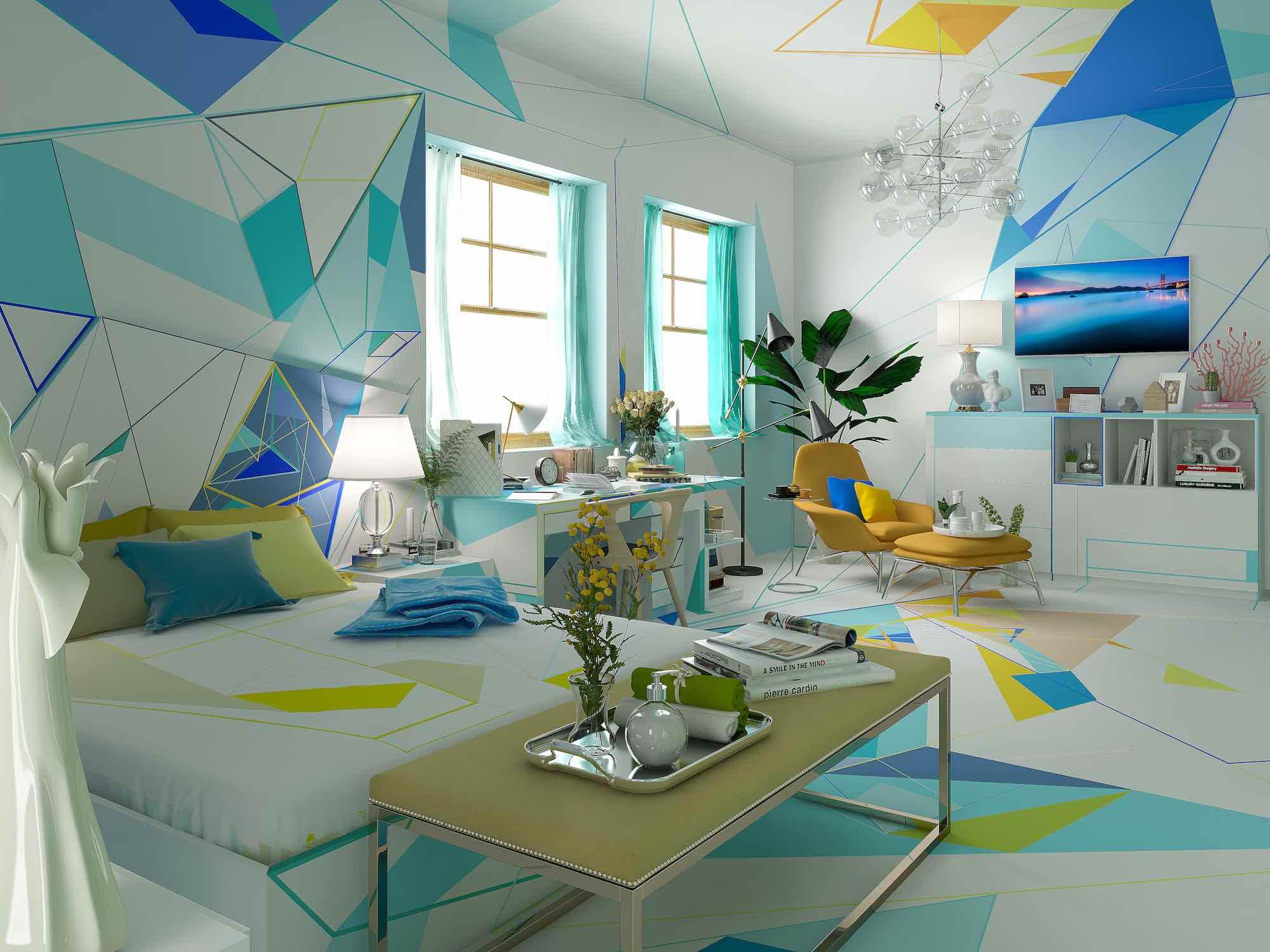 the amazing bedroom