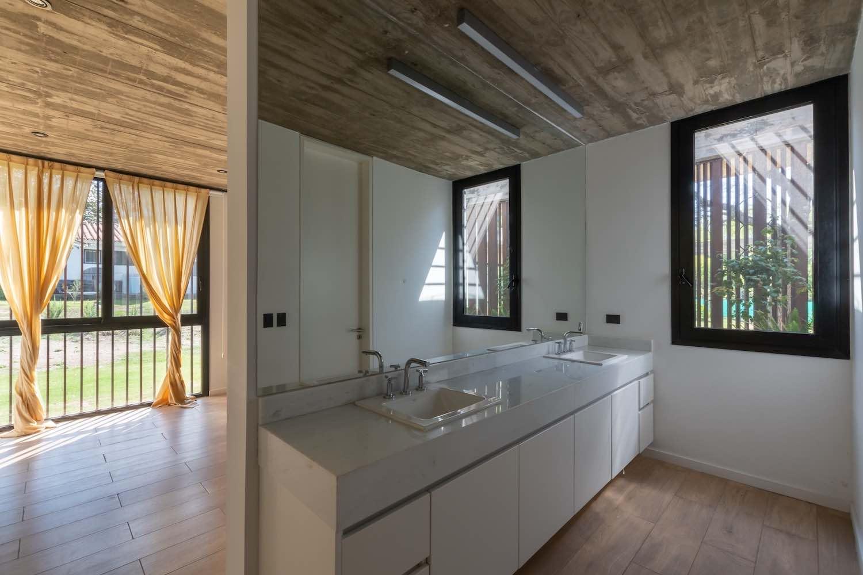 a modern white kitchen