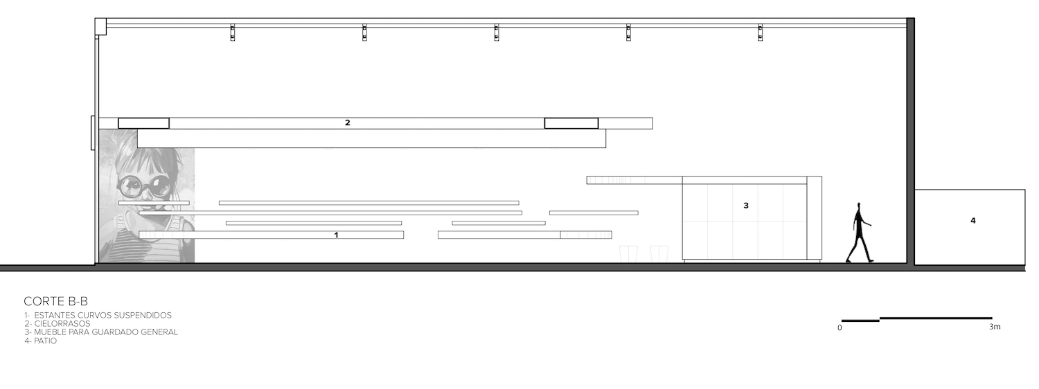 architectural section drawing detail
