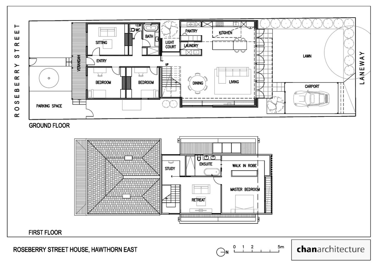 architectural plans of the house