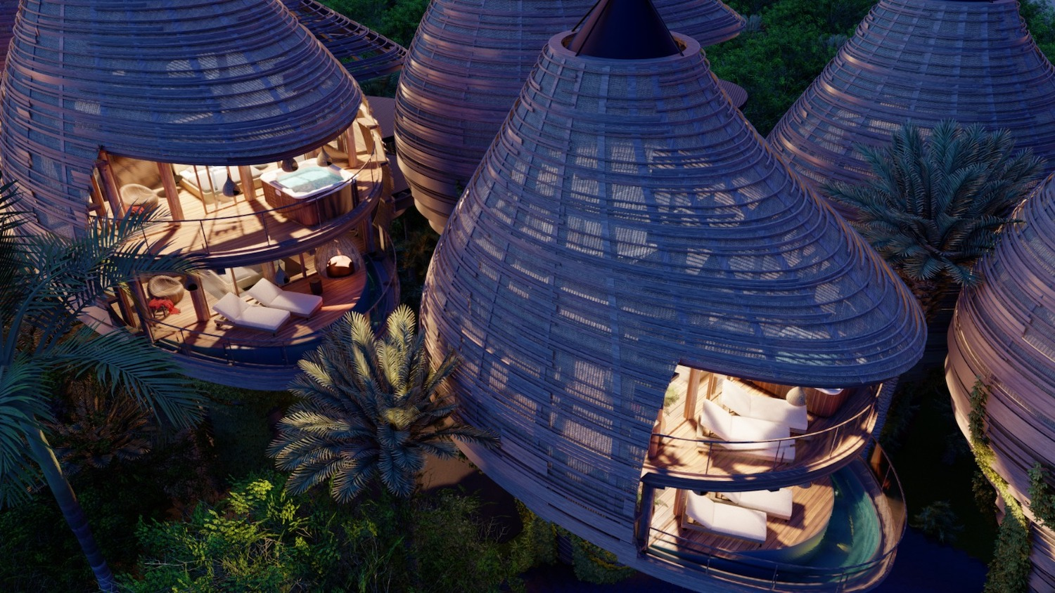 EL NIDO Boutique Hotel in Tulum, Mexico by DNA Barcelona Architects
