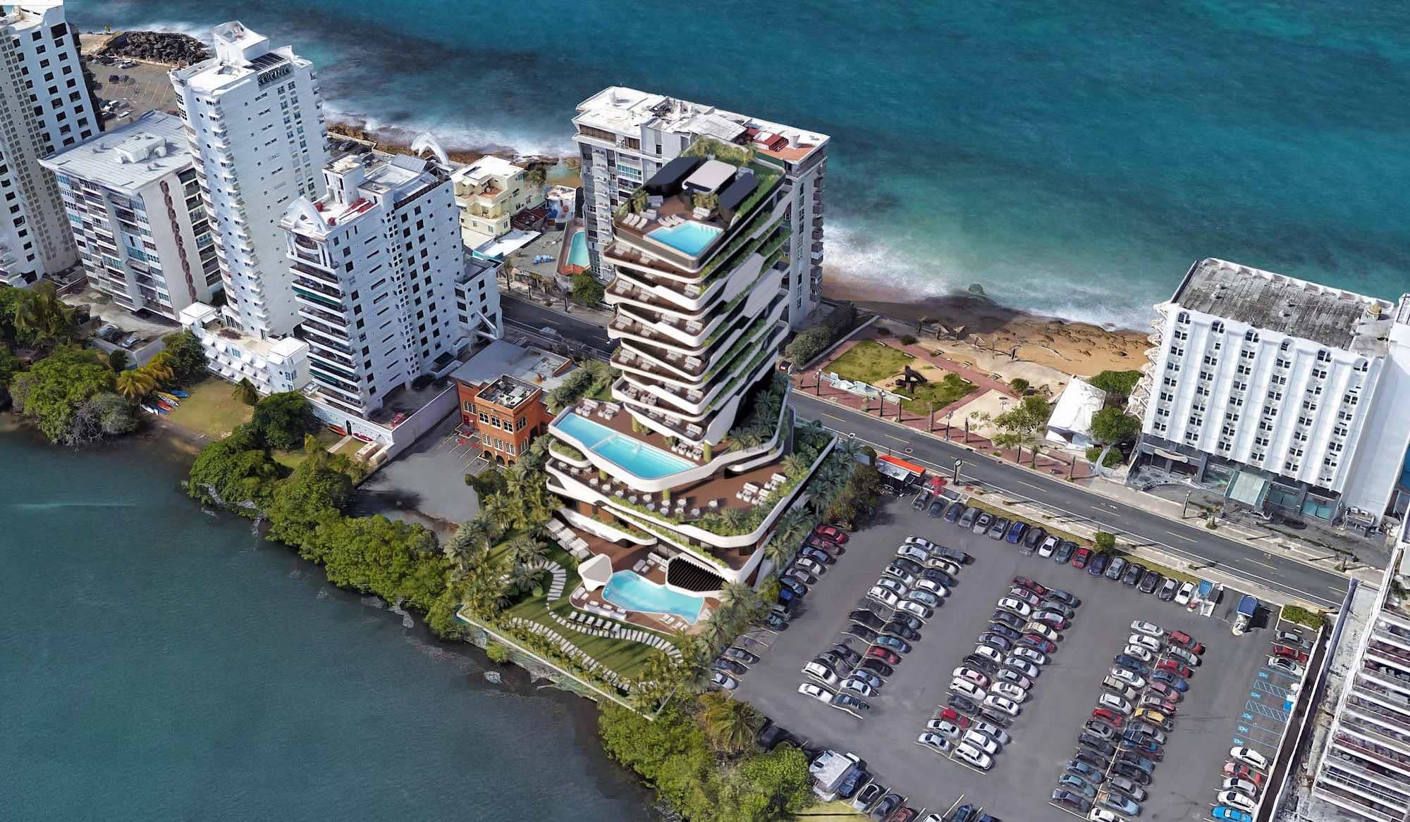 Yacht Hotel in San Juan de Puerto Rico, USA by DNA Barcelona Architects