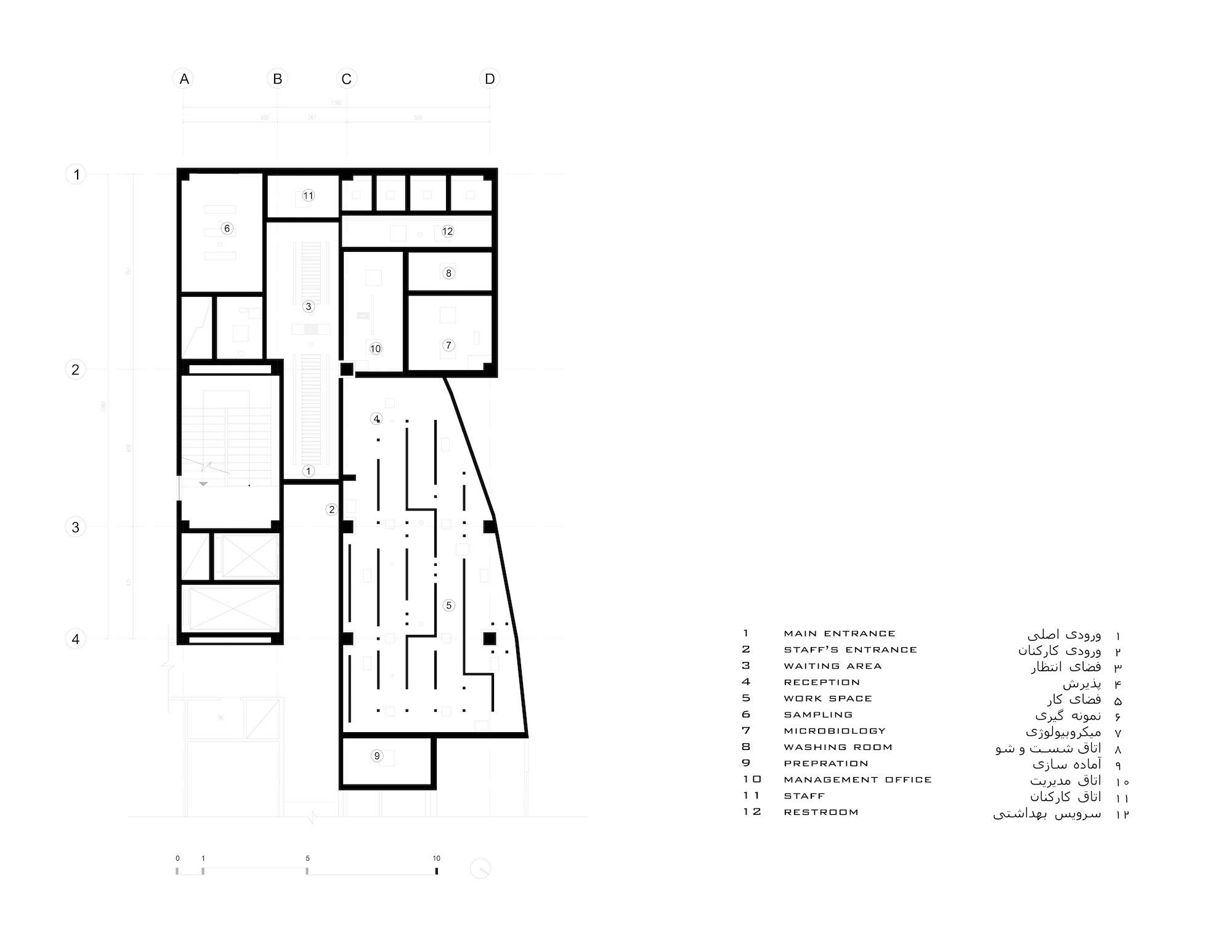 ceiling floor plan