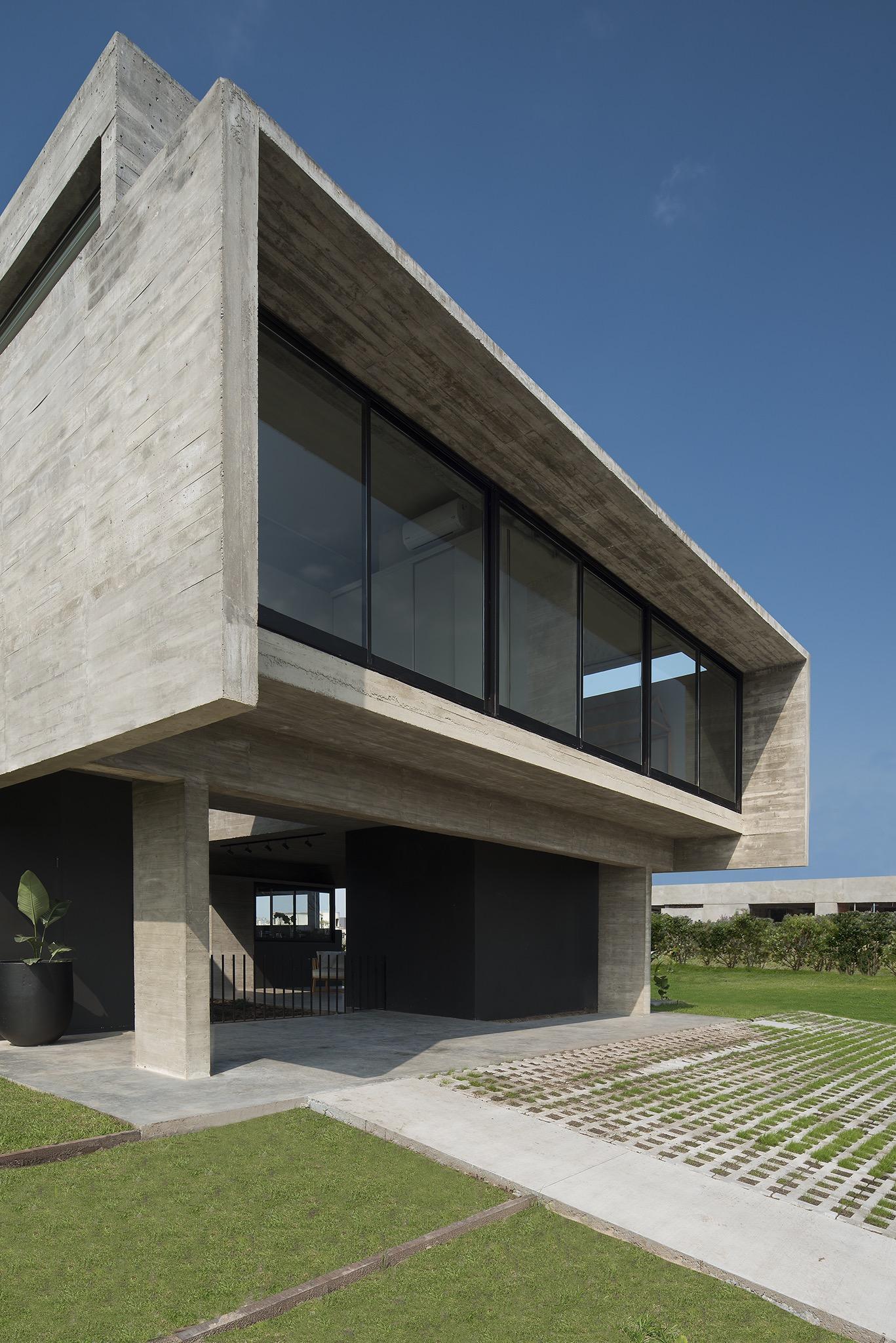 concrete house design