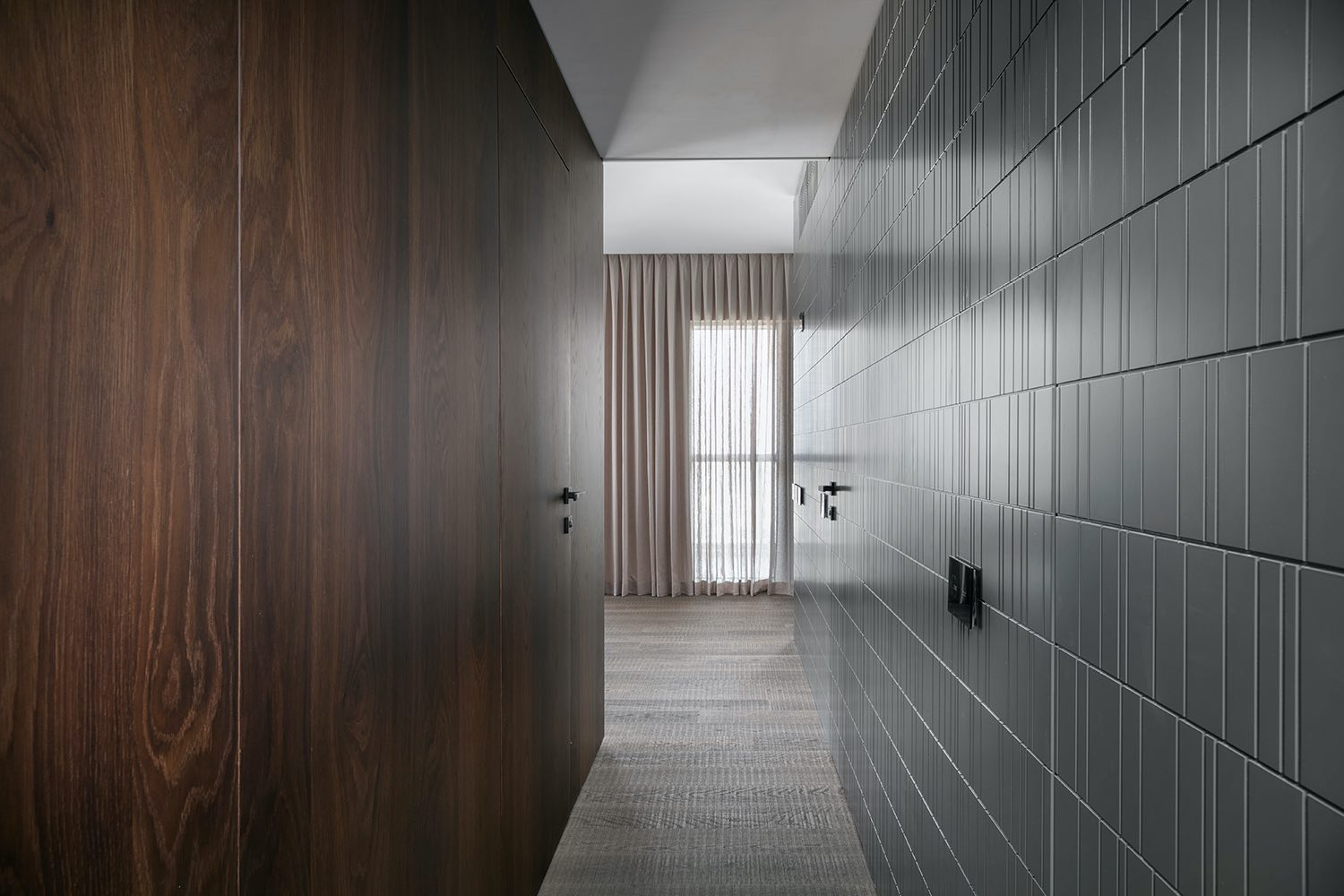 wooden wall and flooring