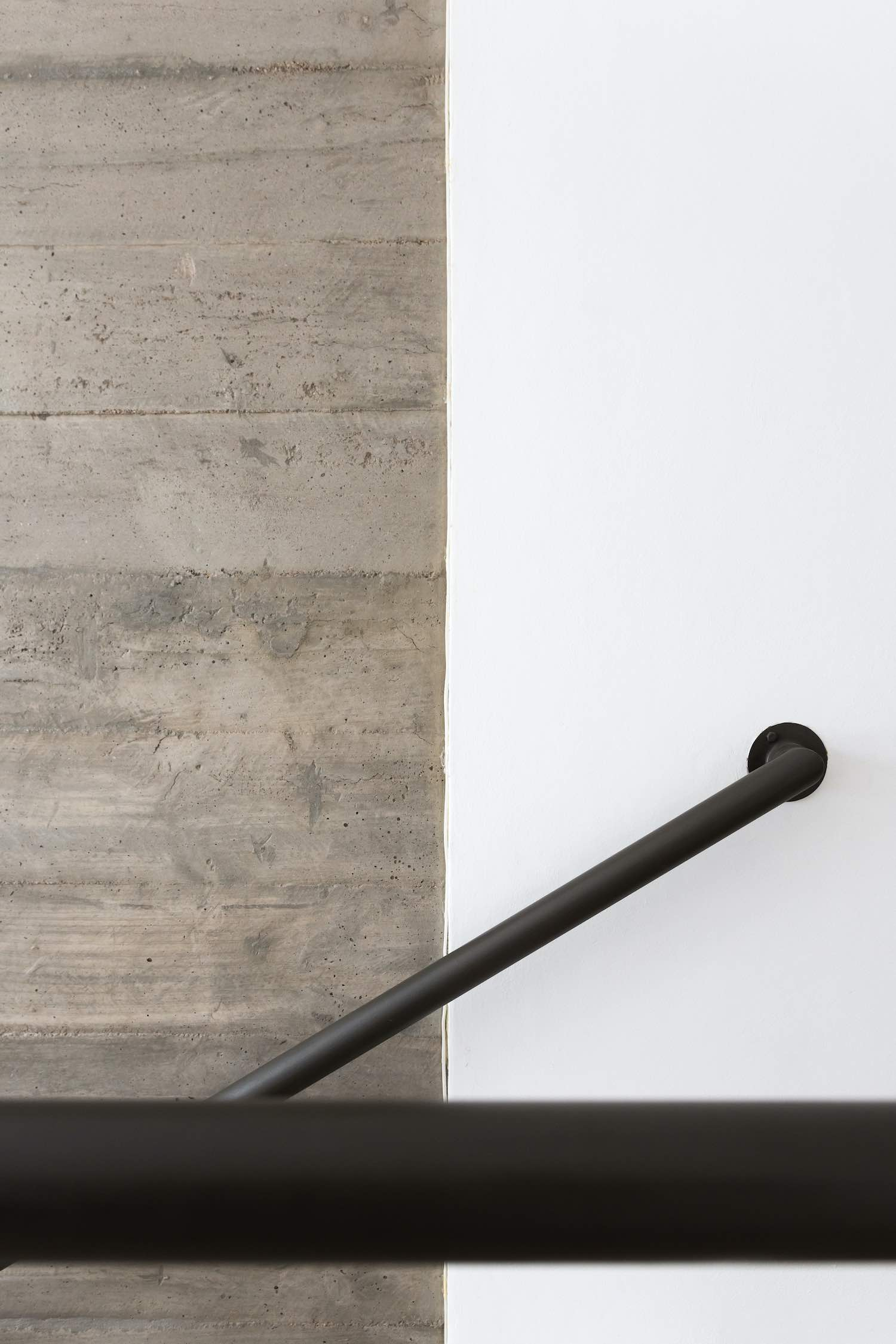 concrete and handrail detail