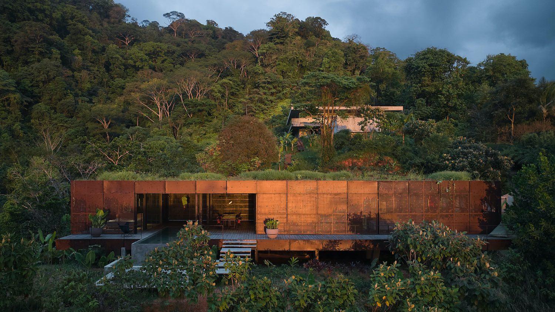 resort villa in a jungle in Costa Rica