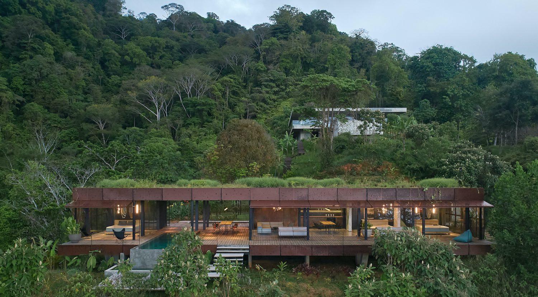Atelier Villa in Playa Hermosa, Costa Rica by Formafatal