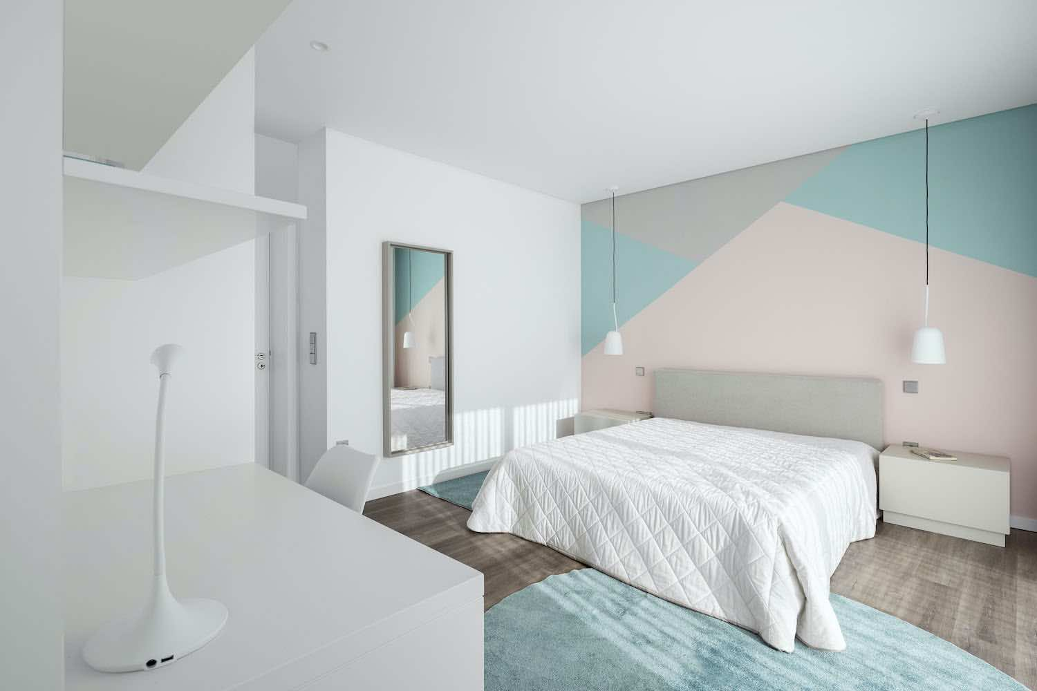a white bedroom design