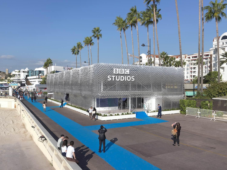 bbc studio pavilion in cannes france