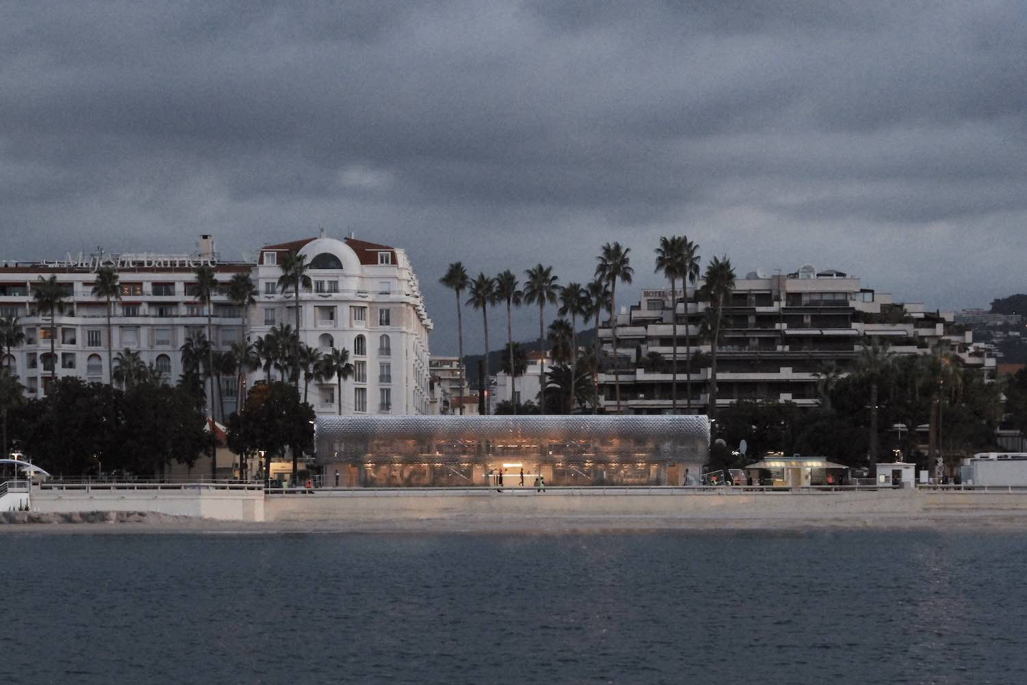 BBC beach-front pavilion in Cannes, France | Universal Design Studio + Giles Miller Studio