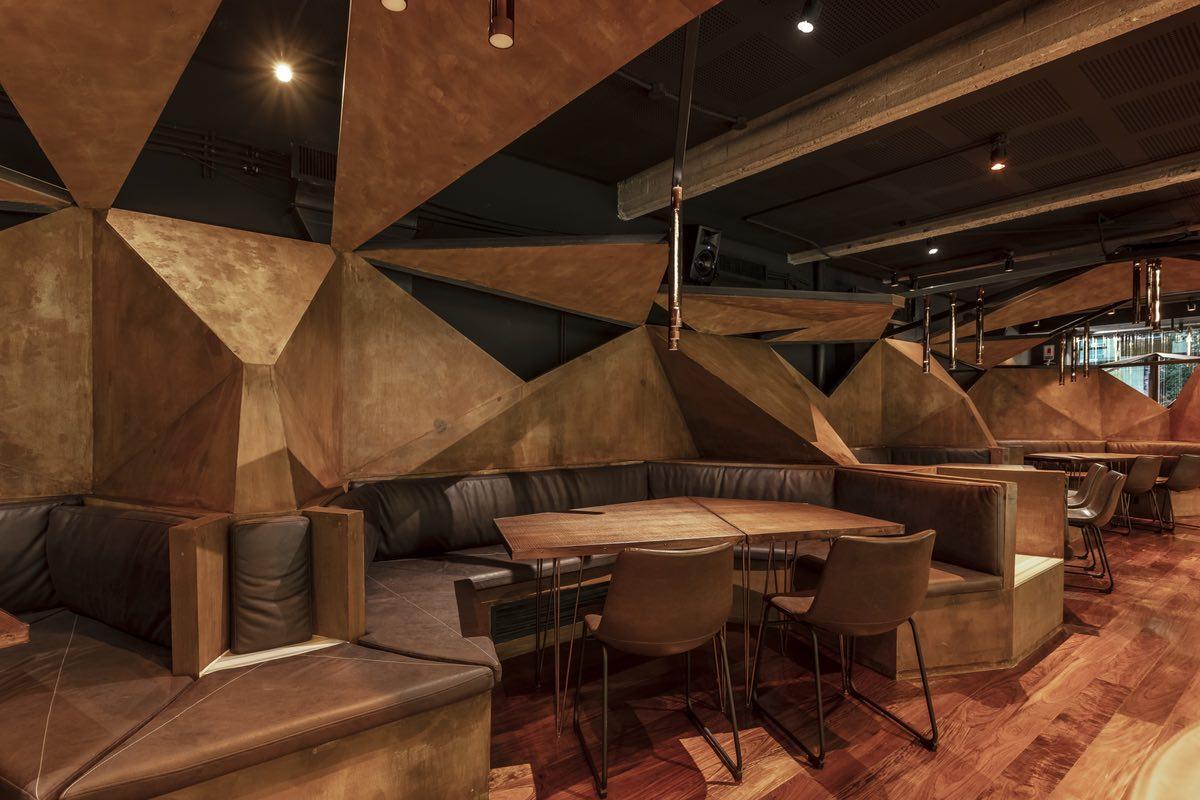 Mamba Bar designed by Hitzig Militello Architects