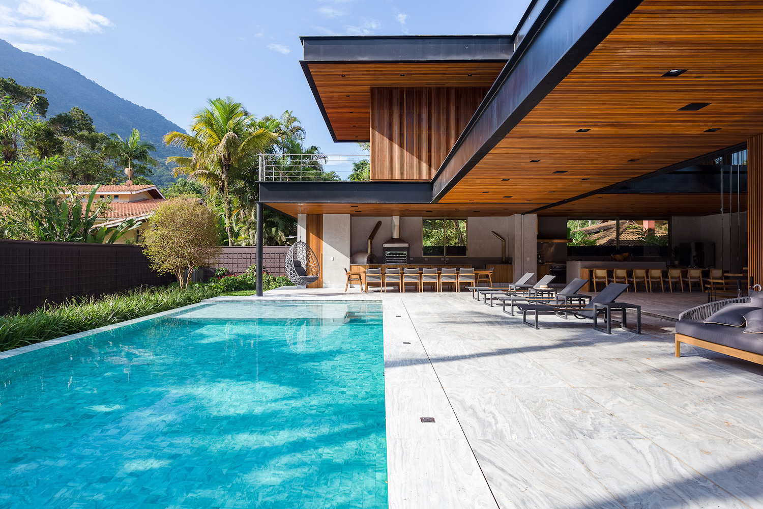 luxury residence with swimming pool