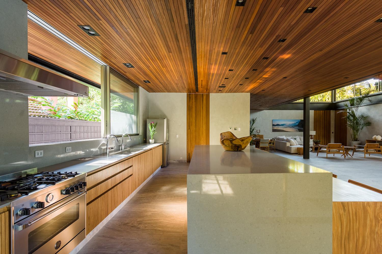 sunlight enter the kitchen through window