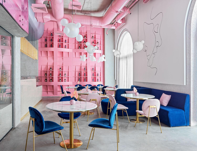 """Dijon"" Restaurant Interior by Lenz Architects"