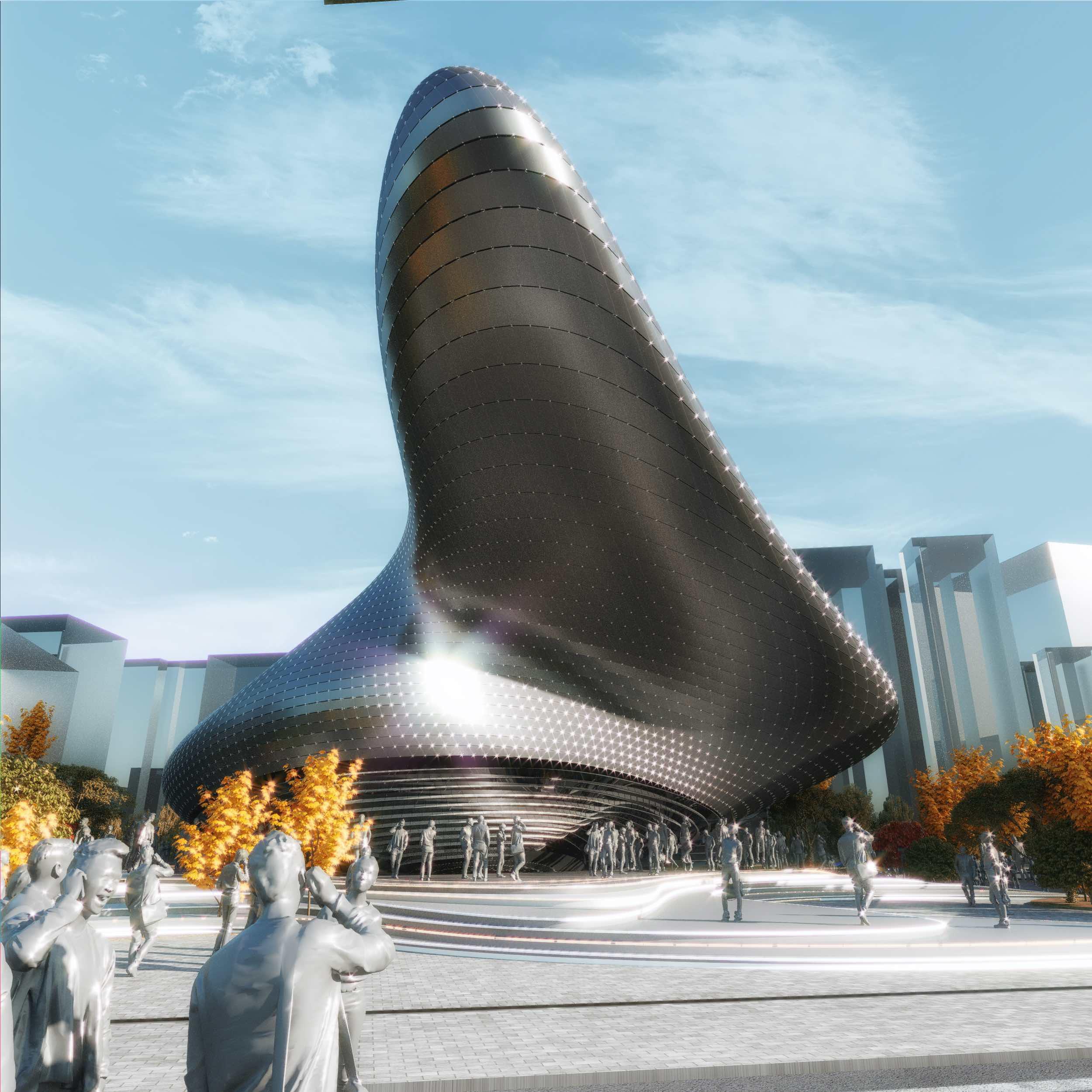 a modern museum in Seoul
