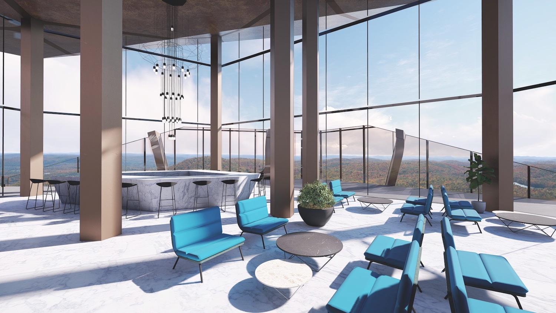 interior design of lobby