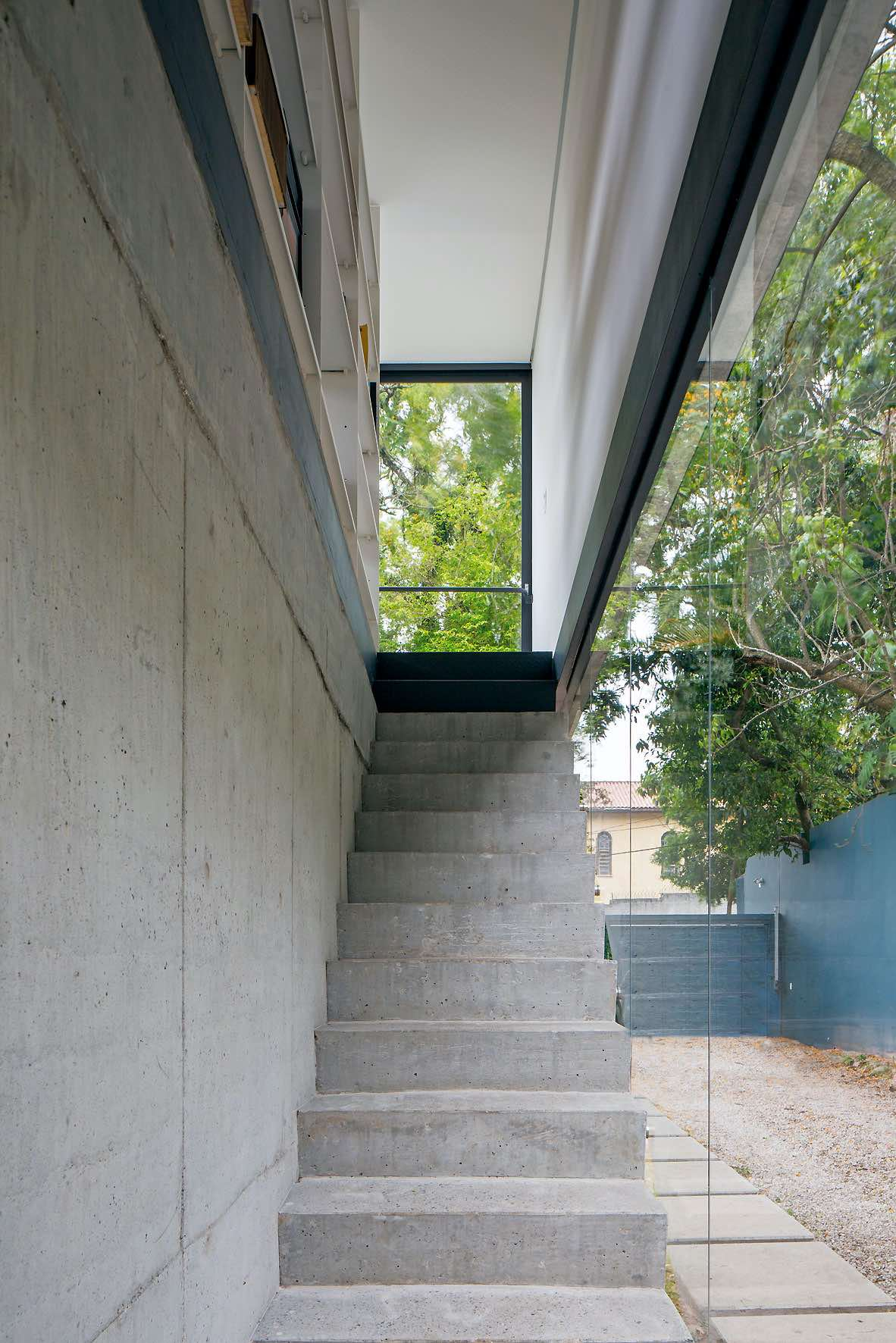 reinforced concrete stairs