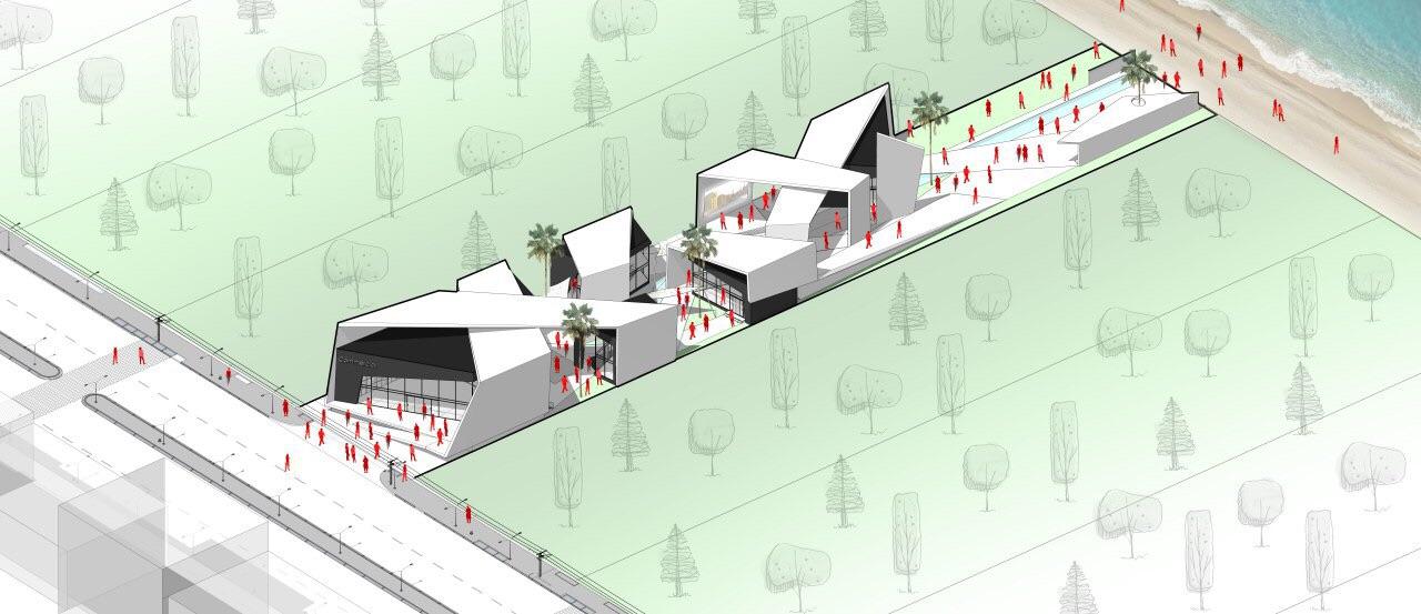 details shown in 3d rendering image