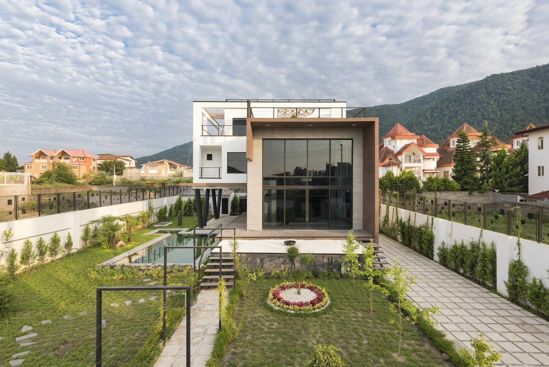 a villa with beautiful garden