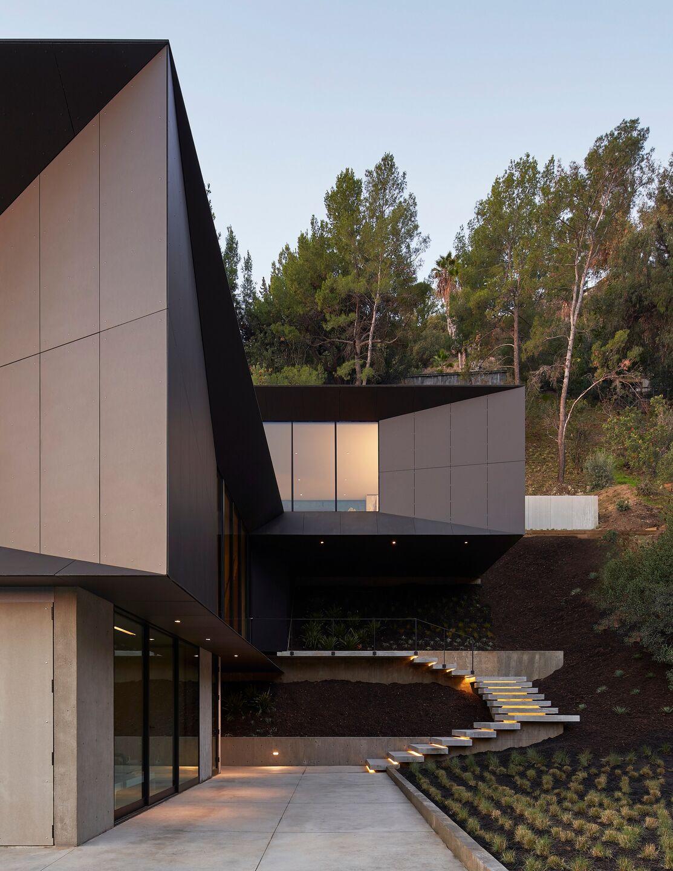 home with alcobond facade
