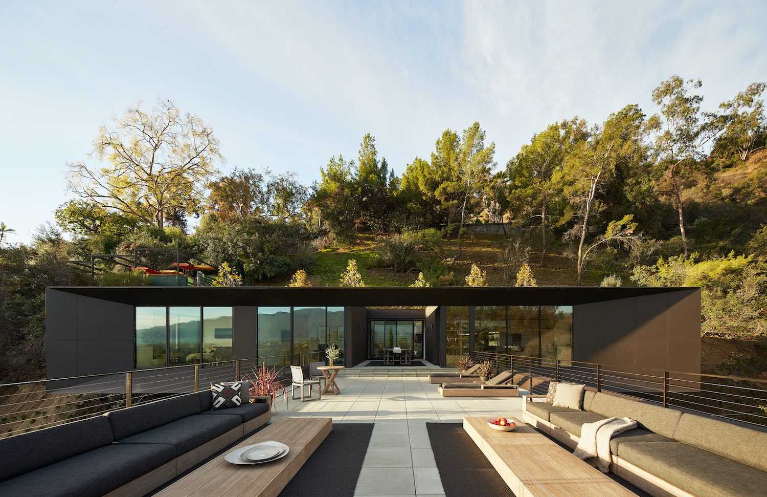 rooftop terrace with outdoor furniture