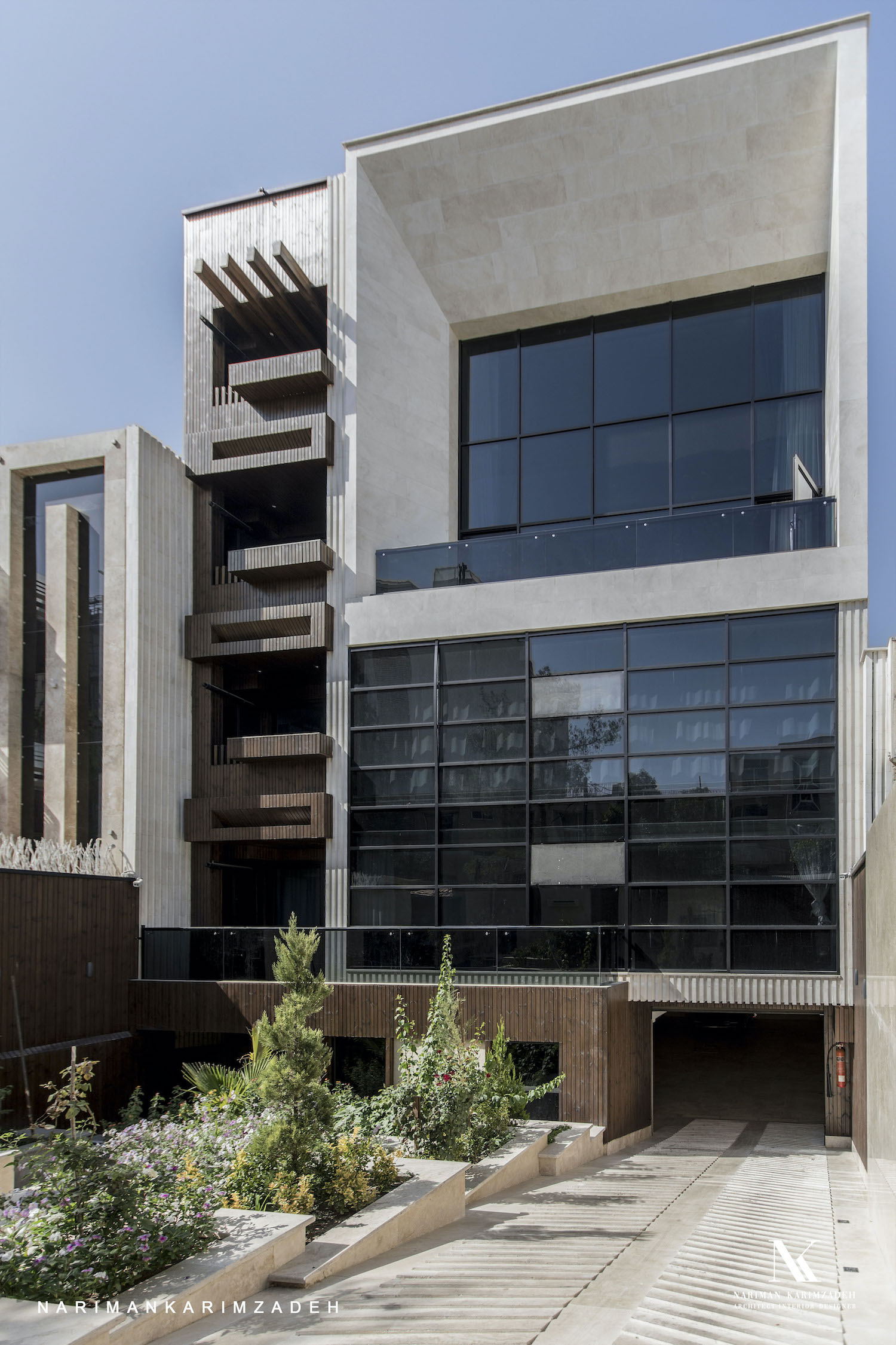 residential apartment building in Esfahan