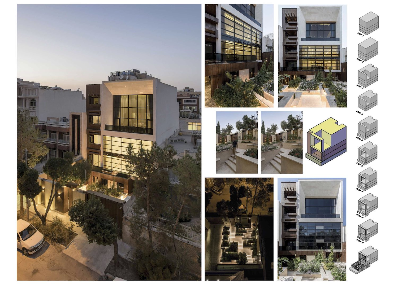 Esteghlal residential building designed by Nariman Karimzadeh