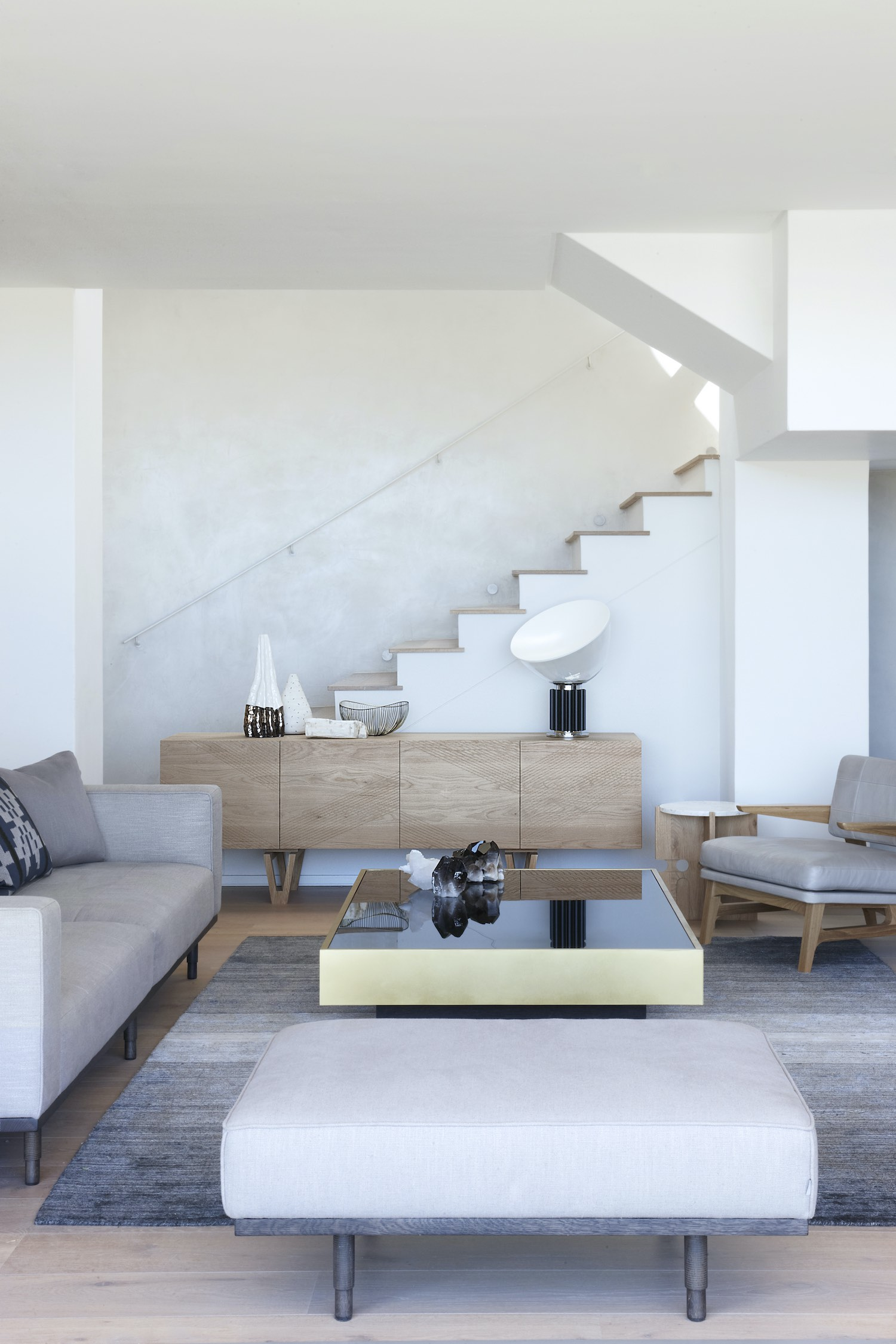 cozy living space with comfortable sofa