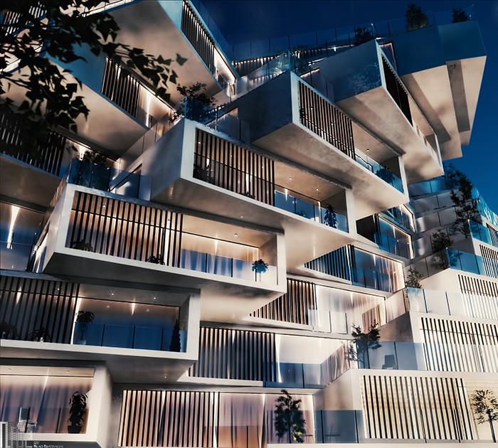Residential complex designed by Milad Eshtiyaghi