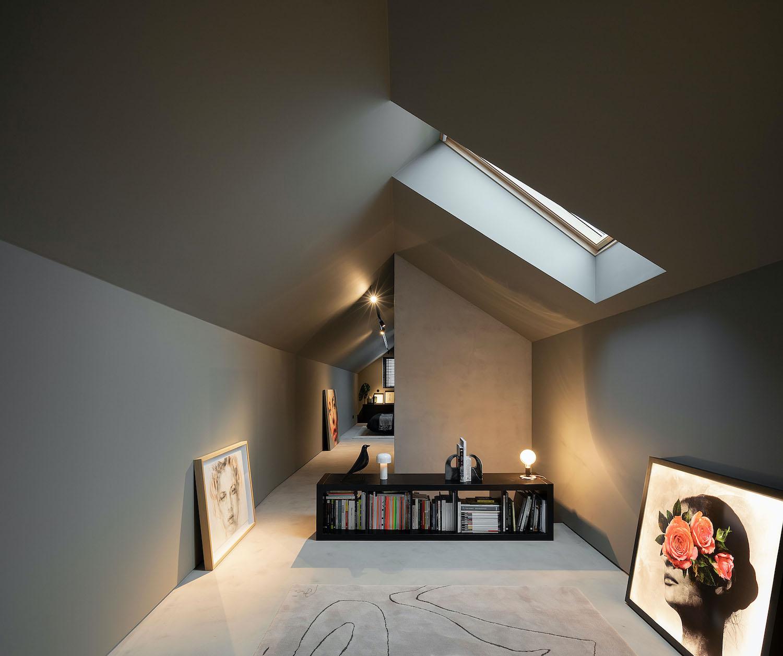 small bookshelves on the floor