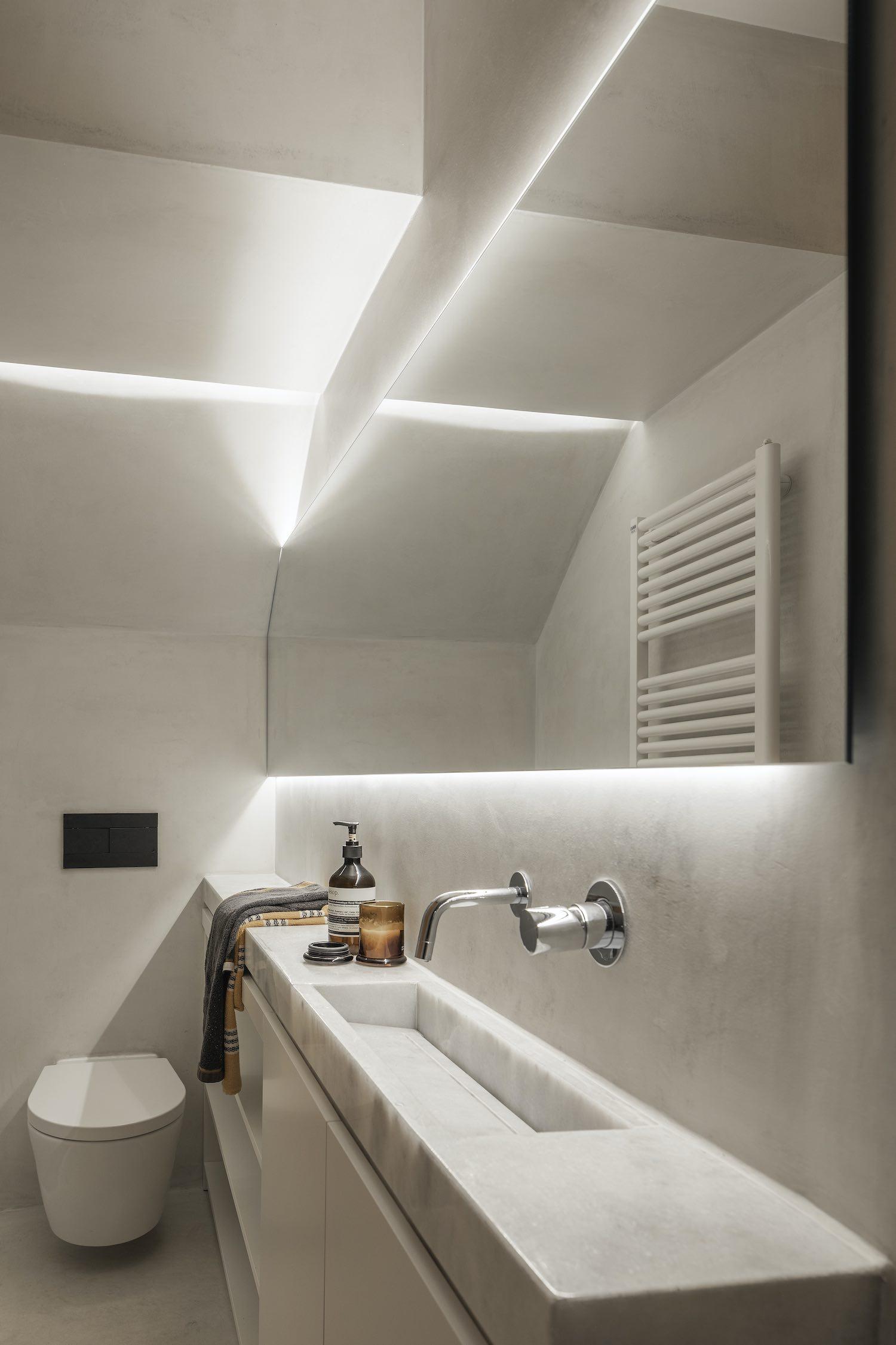 ceramic washing basin and towels