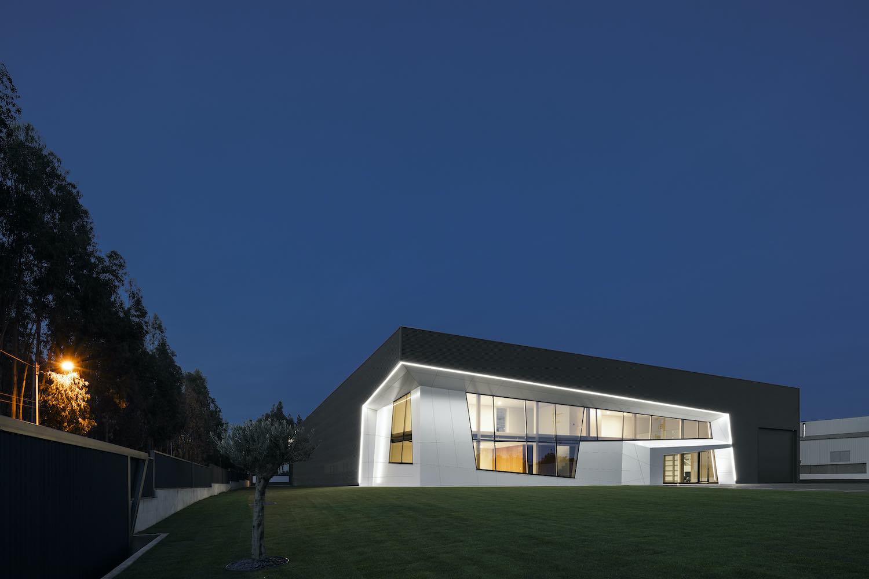 Planstone Industrial Pavilion designed by Paulo Martins Arquitectura & design