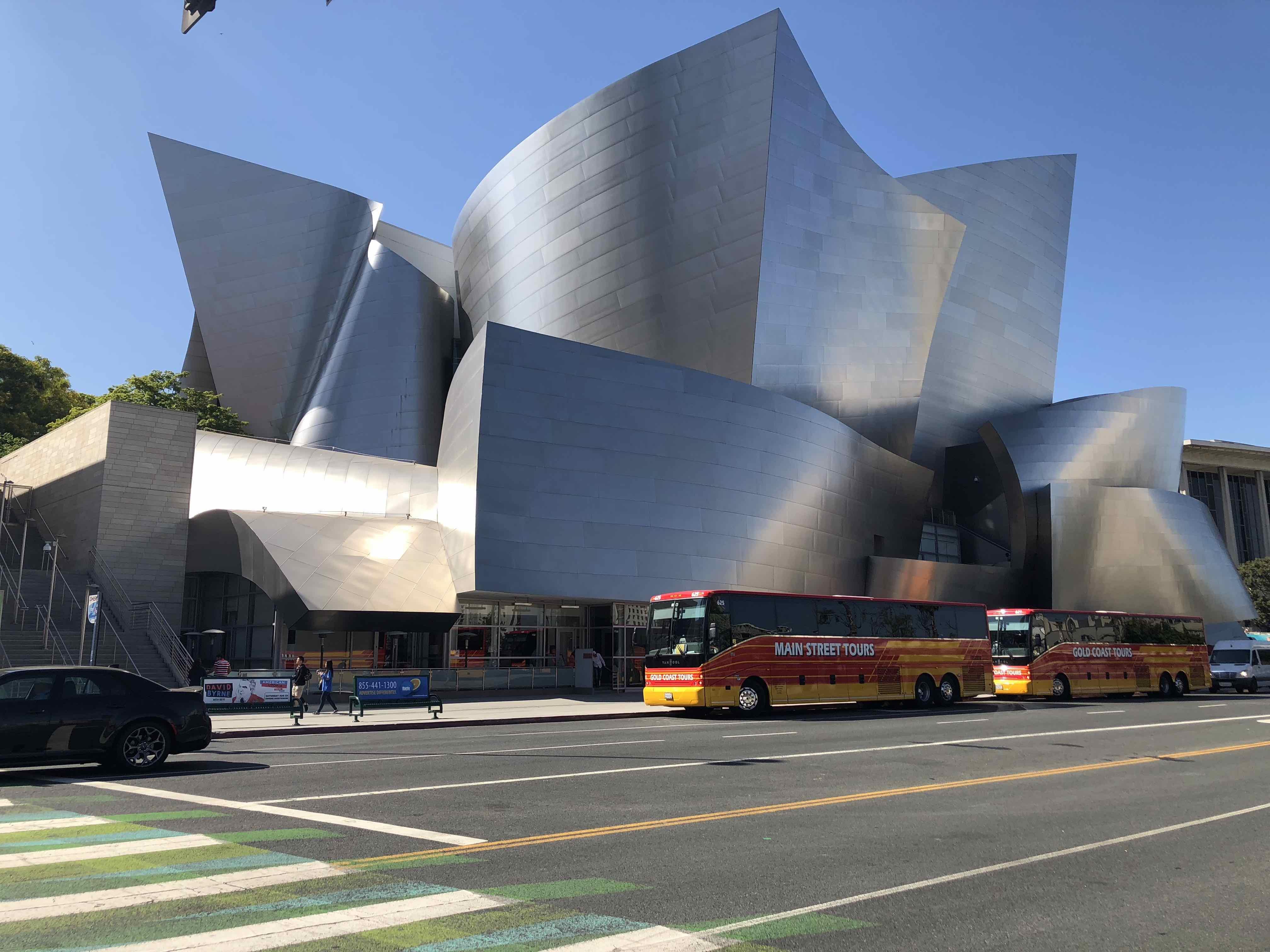 Frank Gehry Walt Disney Concert Hall Pho Photography