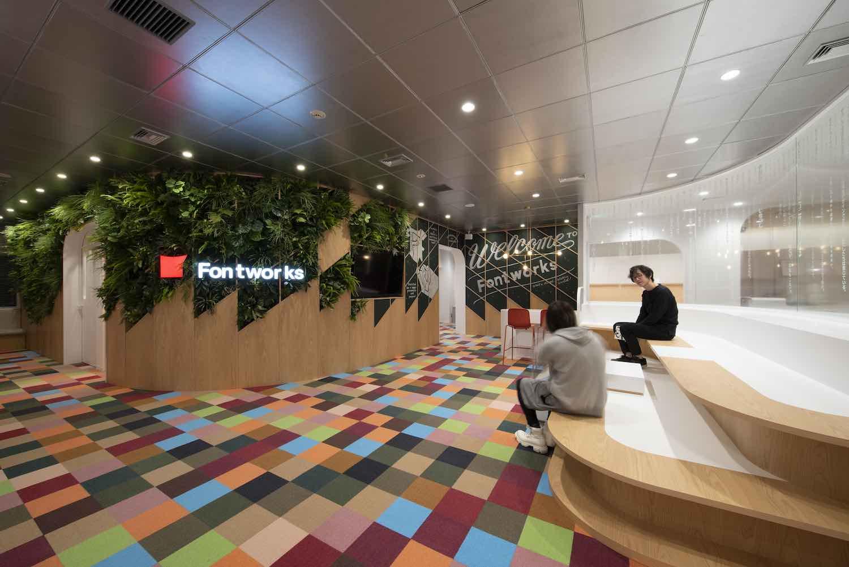 Fontworks Inc. Tokyo Head Office designed by Prism Design