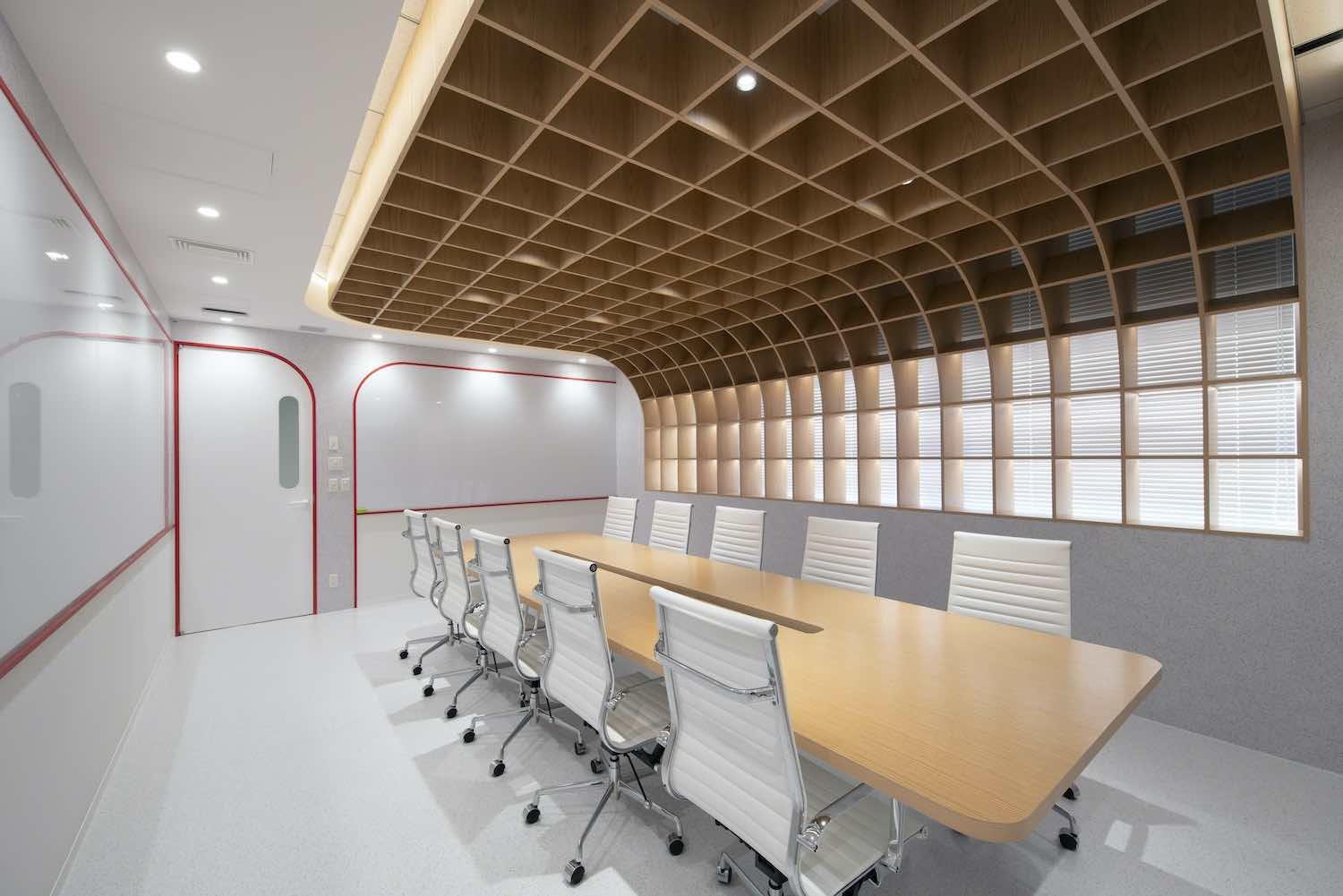 white chairs for conference room