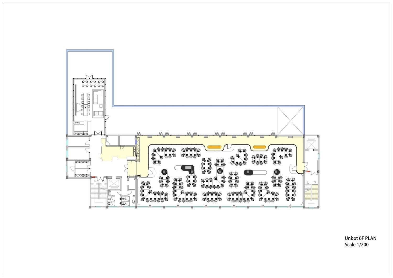 sixth floor plan of office