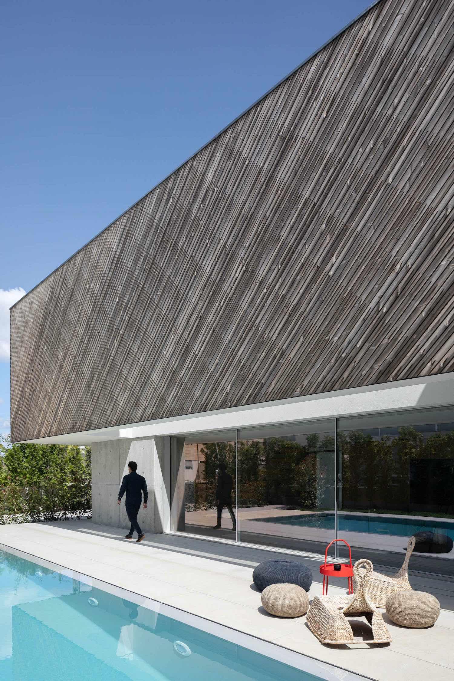 a concrete house