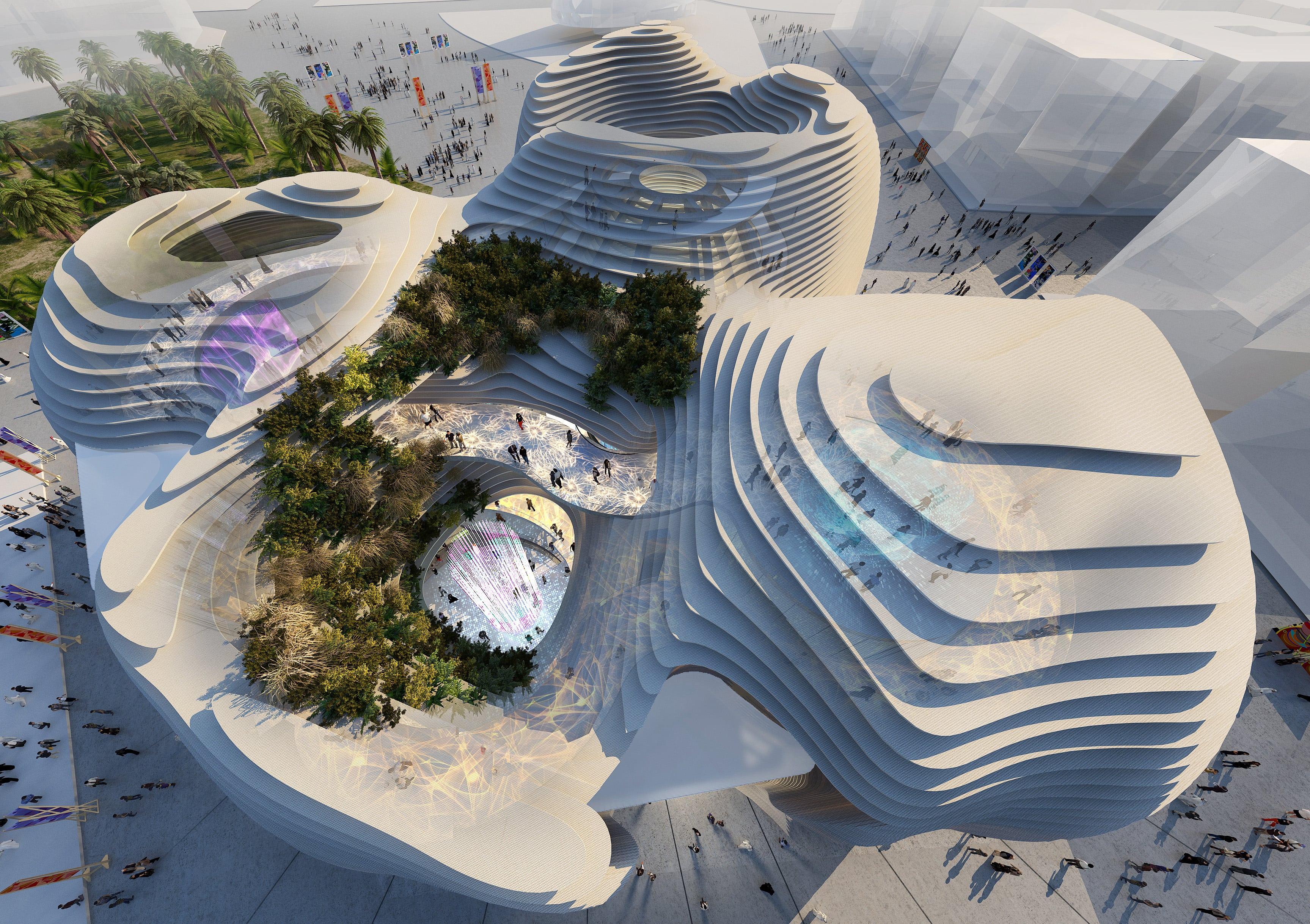 KSA Pavilion rendering image