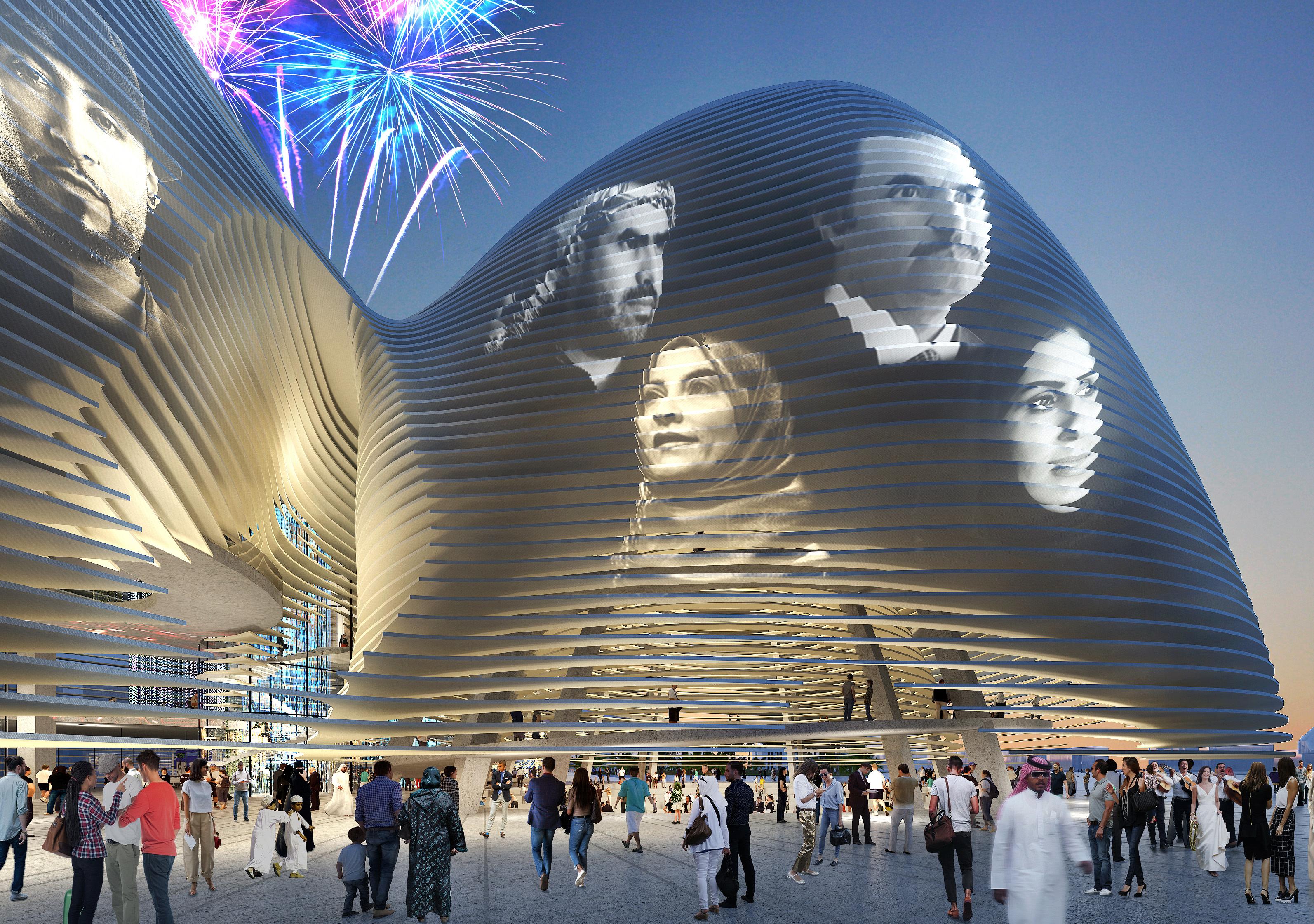KSA Pavilion rendering images