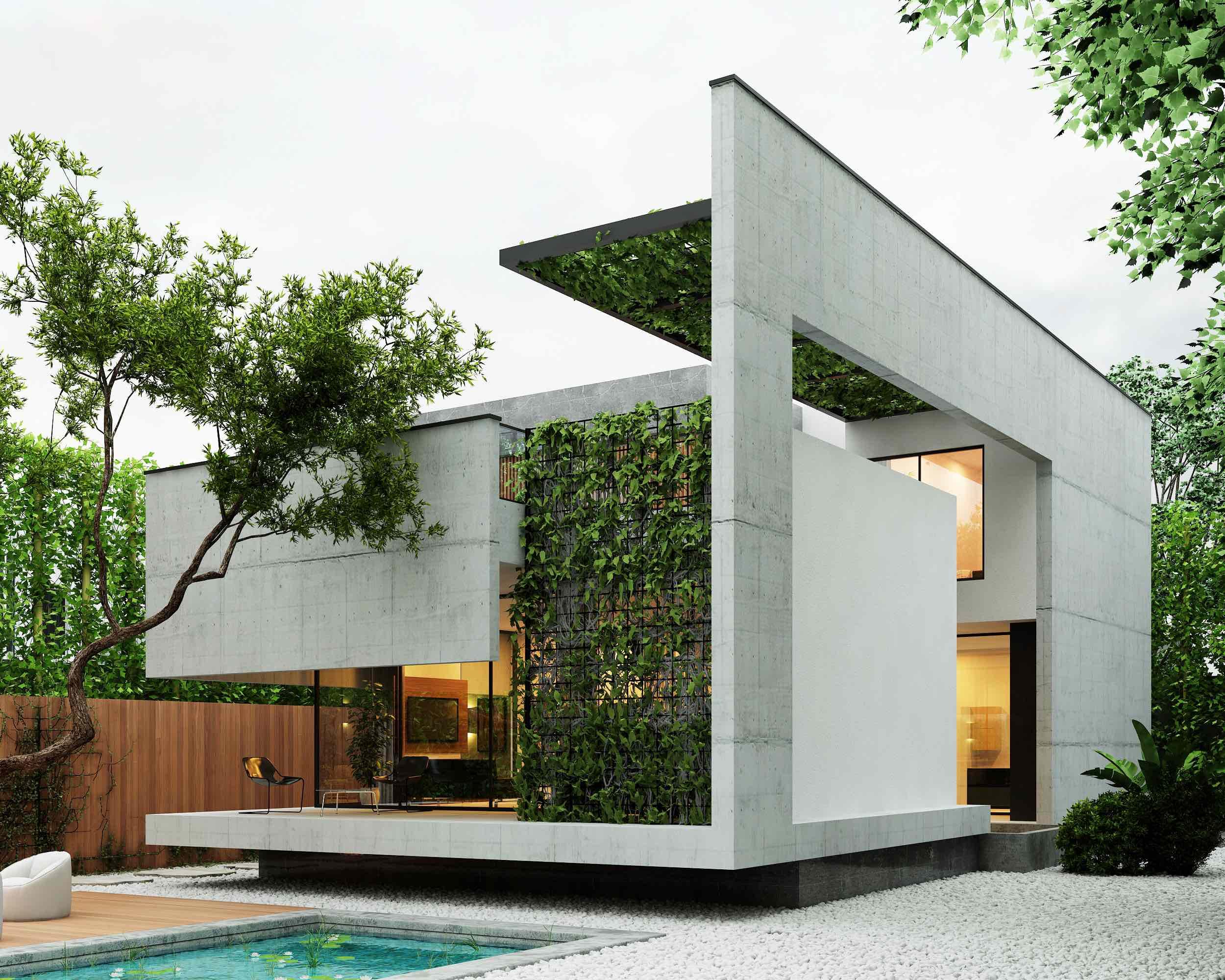 Noor villa designed by Reza Hedayatpoor in Iran