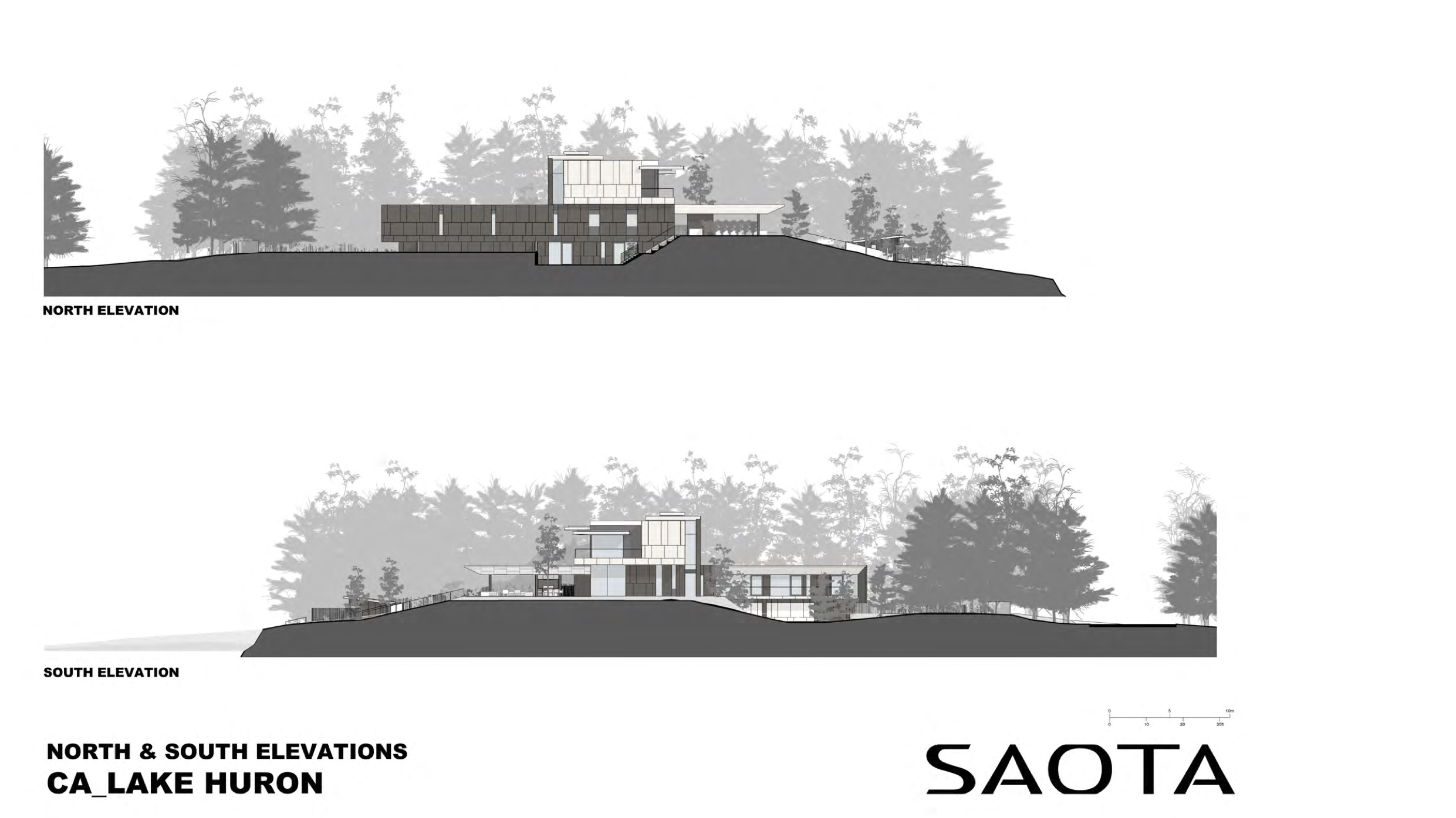 architectural elevations drawing